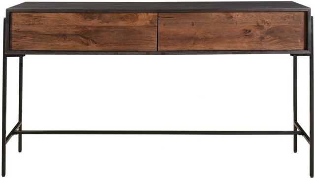 Table console rectangulaire Tobin, brun, Moe's Home Collections®-JD-1003-12