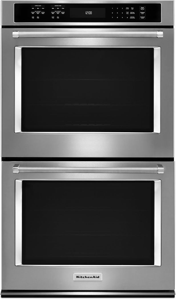 """KitchenAid® 30"""" Stainless Steel Electric Double Oven Built In-KODE500ESS"""