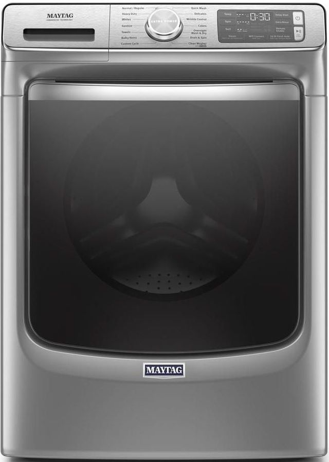 Maytag® 5.0 Cu. Ft. Metallic Slate Front Load Washer-MHW8630HC