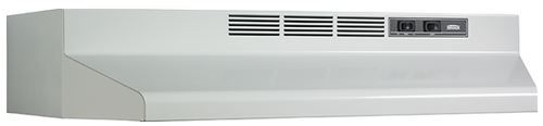 """Broan® 30"""" Convertible Under The Cabinet Hood-White-F403001"""