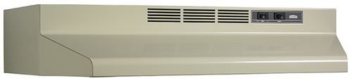 """Broan® 30"""" Convertible Under The Cabinet Hood-Almond-F403008"""