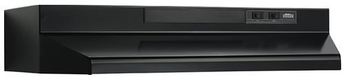 """Broan® 30"""" Convertible Under The Cabinet Hood-Black-F403023"""