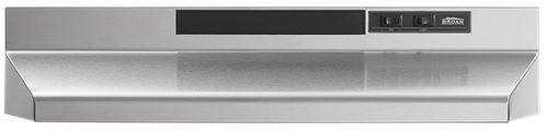"""Broan® 36"""" Convertible Under The Cabinet Hood-Stainless Steel-F403604"""