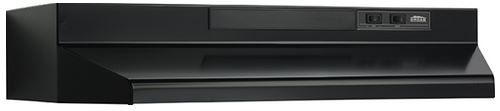 """Broan® 36"""" Convertible Under The Cabinet Hood-Black-F403623"""