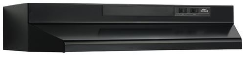 """Broan® 42"""" Convertible Under The Cabinet Hood-Black-F404223"""