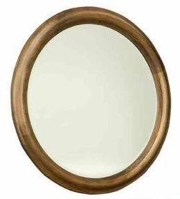 Durham Furniture Hudson Falls Aged Wheat Round Mirror-111-180