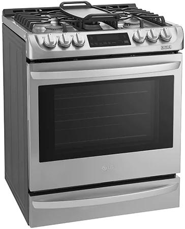 Cuisinière au gaz encastrée LG® de 6,3 pi³ de 30 po - Acier inoxydable-LSG5513ST