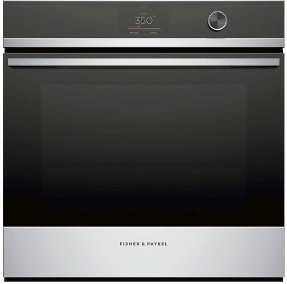"""Fisher & Paykel Series 9 24"""" Stainless Steel Electric Single Oven Built In-OB24SDPTDX1"""