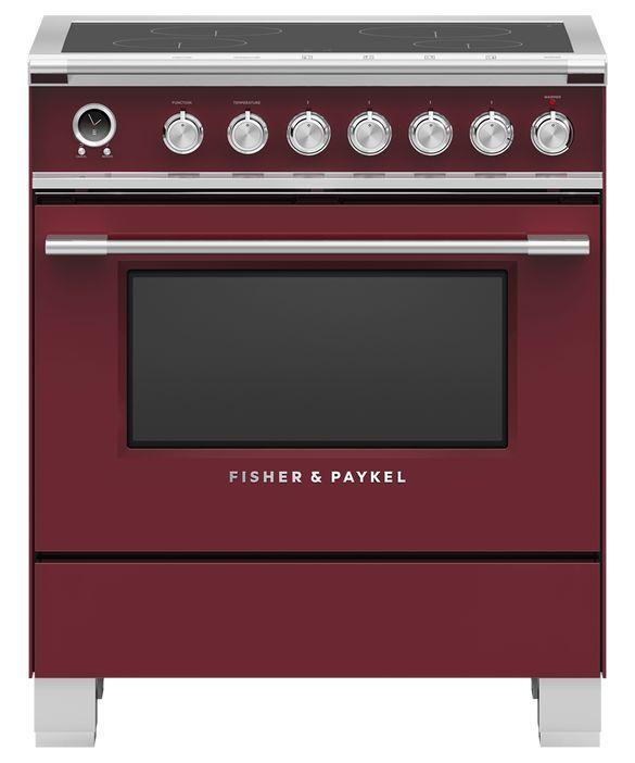 Cuisinière électrique encastrée Fisher Paykel® de 3,5 pi³ de 30 po - Rouge-OR30SCI6R1