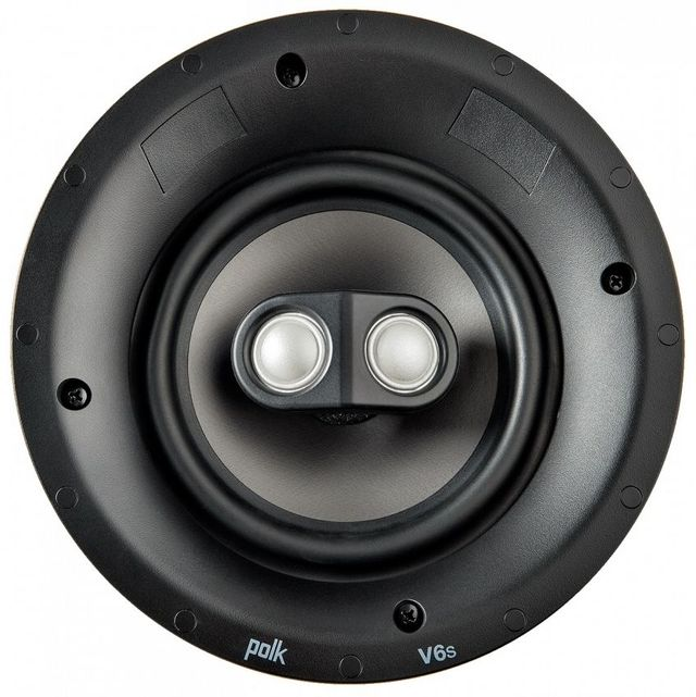 Polk Audio® V6s Vanishing V Series Switchable Stereo and Surround Sound In-Ceiling Speaker-AW4006