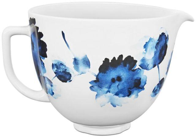 KitchenAid® Ink Watercolor 4.8 Liter Ceramic Bowl-KSM2CB5PIW