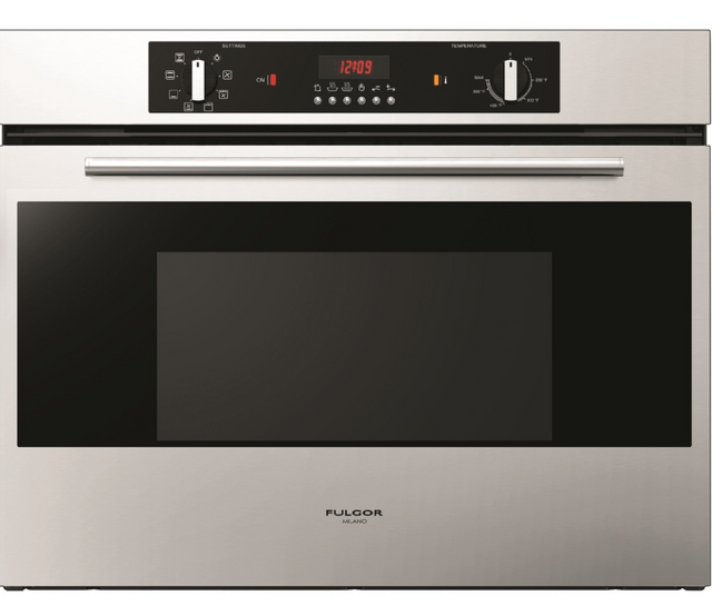 """Fulgor® Milano 400 Series 30"""" Single Electric Wall Oven-Stainless Steel-F4SP30S1"""