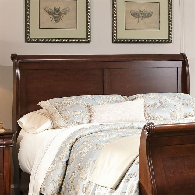 Liberty Furniture Carriage Court Mahogany Queen Sleigh Headboard-709-BR21H
