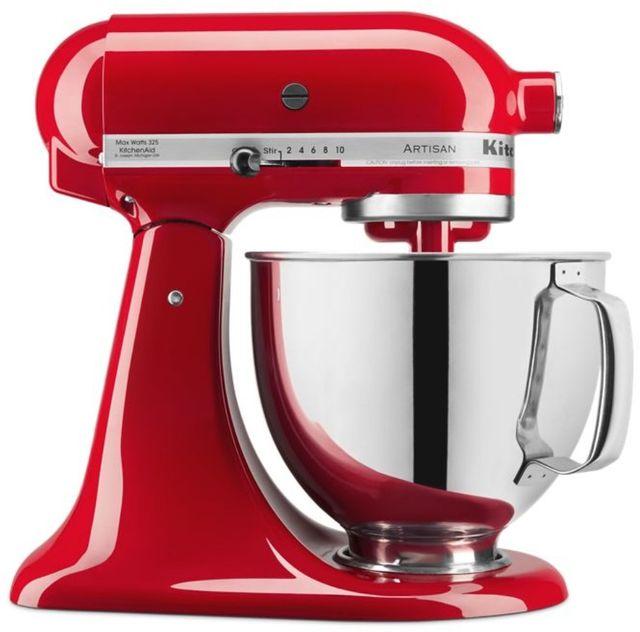 KitchenAid® Artisan® Series 5 Quart Passion Red Stand Mixer-KSM150PSPA