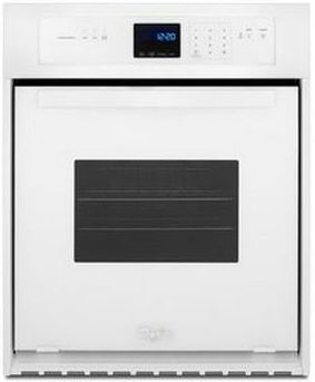 """Whirlpool® 24"""" Electric Built In Oven-Black-WOS11EM4EW"""