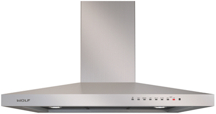 """Wolf® 36"""" Cooktop Wall Hood-Stainless Steel-VW36S"""