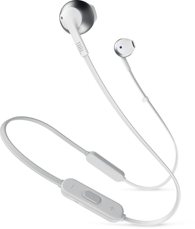 JBL® TUNE 205BT Wireless Earbud Earphones-Silver-JBLT205BTSIL