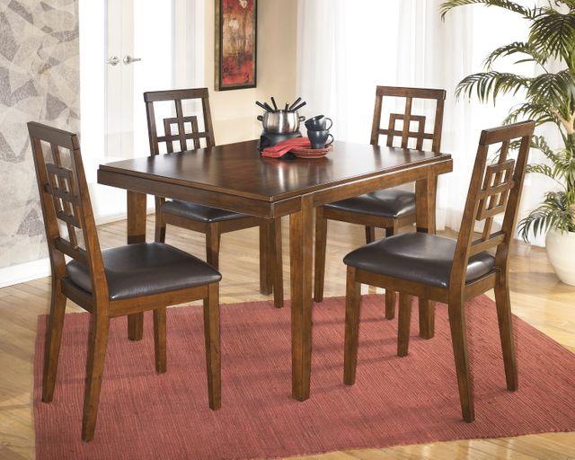 Signature Design by Ashley® Cimeran Rectangular Medium Brown 5 Piece Dining Table Set-D295-225