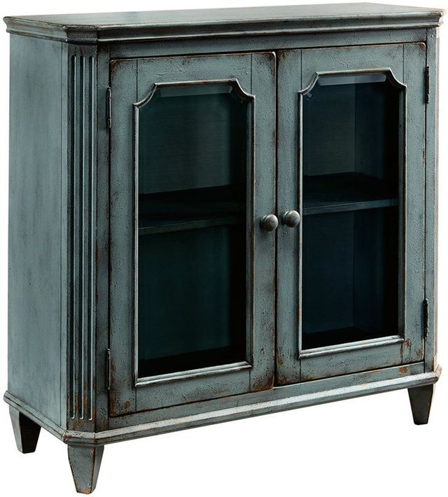 Ashley® Mirimyn Antique Teal Accent Cabinet-T505-742