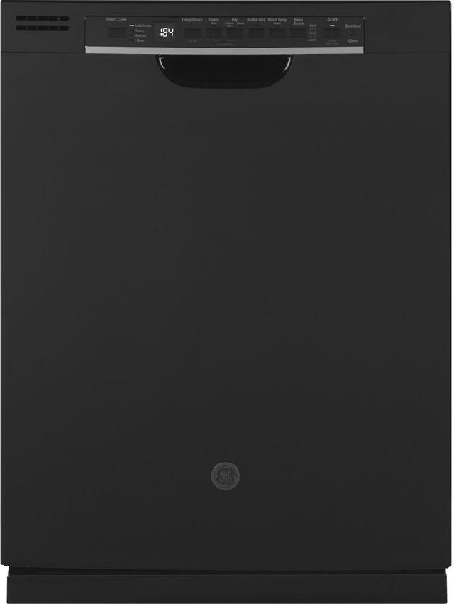 "GE® 24"" Built In Dishwasher-Black-GDF630PGMBB"