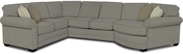 England Furniture Co. Brantley 4 Piece Culpepper Cement/Alvarado Mineral/Master Ash Sectional-5630-28-22-43-95+8612+8367+8601