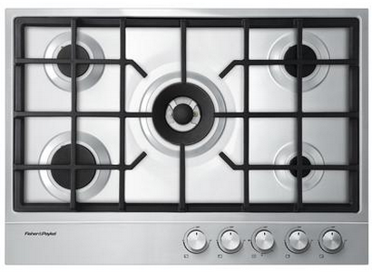 """Fisher & Paykel 30"""" Gas Cooktop-Stainless Steel-CG305DNGX1"""