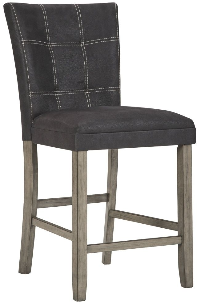Benchcraft® Dontally Two-Tone Upholstered Barstool-D294-124
