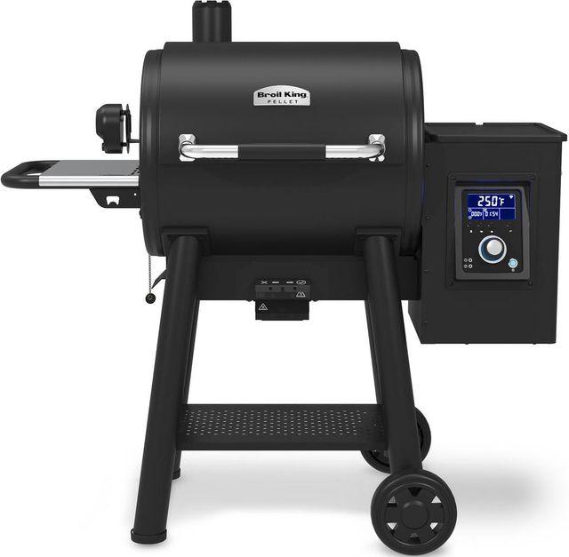 Broil King® Smoke™ Regal 400 Pellet Black Free Standing Grill-495051