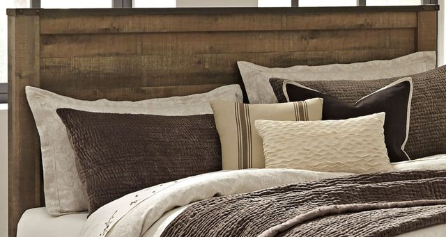 Signature Design by Ashley® Trinell Rustic Brown Queen Panel Headboard-B446-57