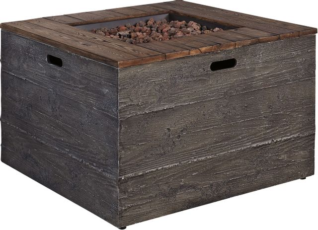 Hatchlands Square Fire Pit Table-P015-772