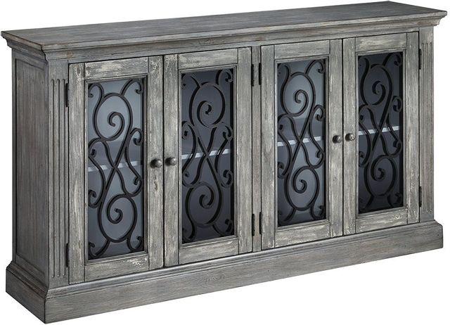Signature Design by Ashley® Mirimyn Antique Gray Door Accent Cabinet-T505-962