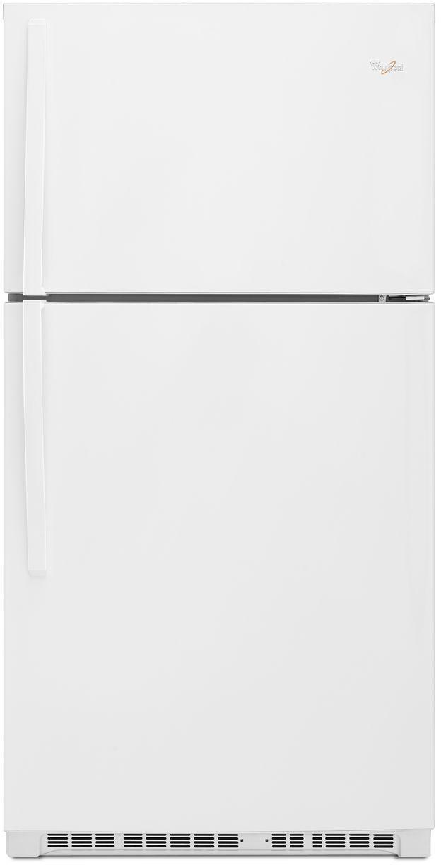 Whirlpool® 21.3 Cu. Ft. Top Freezer Refrigerator-White-WRT541SZDW