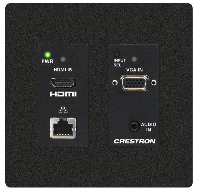 Crestron® DM Lite – HDMI® Over CATx Transmitter-Black-HD-TX-201-C-2G-E-B-T