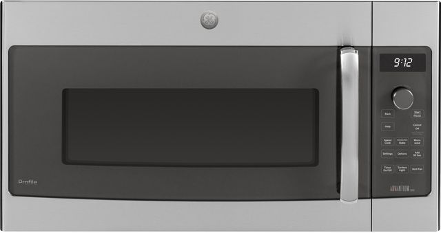 GE® Profile™ Series 1.7 Cu. Ft. Stainless Steel Over The Range Microwave-PSA9120SFSS