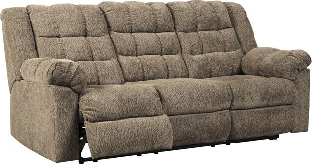 Signature Design by Ashley® Workhorse Cocoa Reclining Sofa-5840188