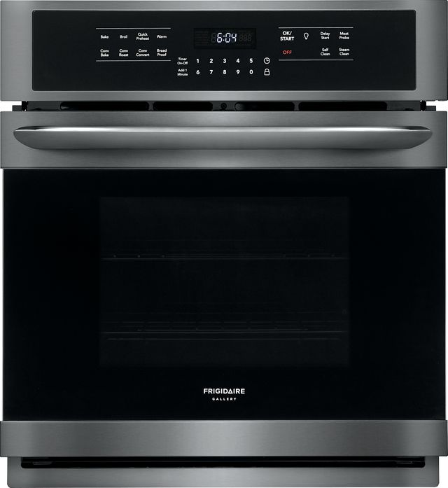 """Frigidaire Gallery® 27"""" Black Stainless Steel Electric Single Oven Built In-FGEW2766UD"""