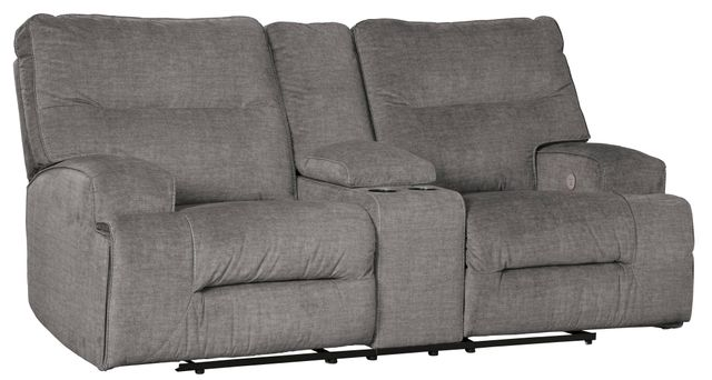 Signature Design by Ashley® Coombs Double Reclining Loveseat with Console-4530294