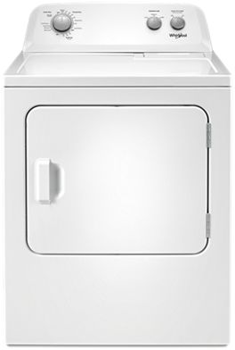 Whirlpool® 7.0 Cu. Ft. White Front Load Electric Dryer-YWED4850HW