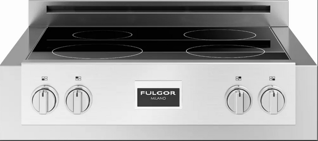 """Fulgor Milano® Sofia 600 Series 30"""" Pro Style Induction Rangetop-Stainless Steel-F6IRT304S1"""