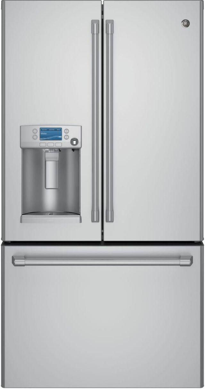 Café™ 22.22 Cu. Ft. Stainless Steel Counter Depth French Door Refrigerator-CYE22USHSS