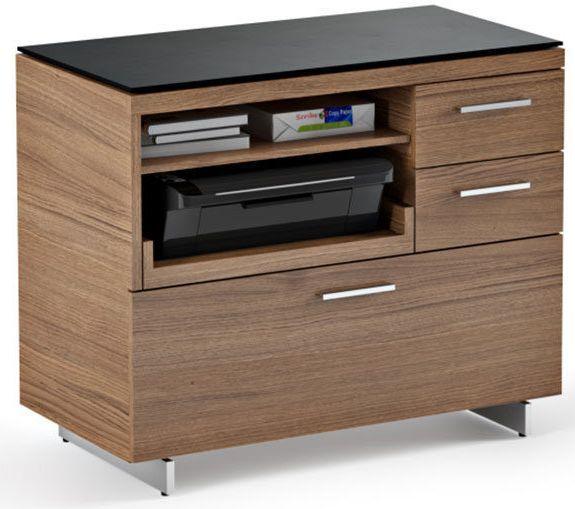 BDI Sequel® 6017 Multifunction Cabinet-Natural Walnut-6017-NATURAL WALNUT
