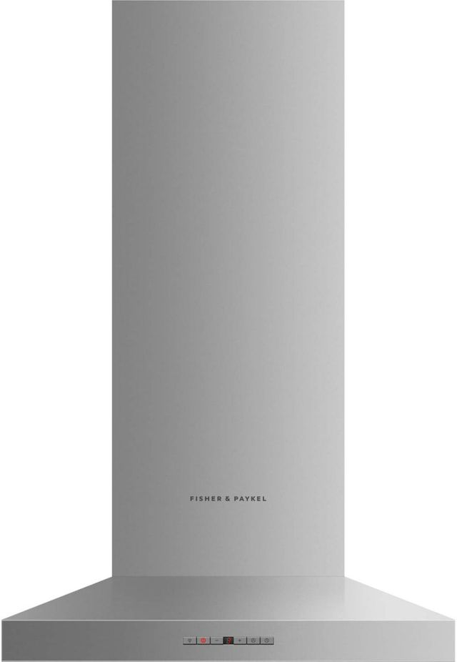 """Fisher & Paykel Series 7 23.56"""" Stainless Steel Wall Chimney Ventilation Hood-HC24PHTX1 N"""