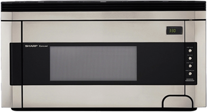 Sharp® Carousel Over The Range Microwave Oven-Stainless Steel-R1514T