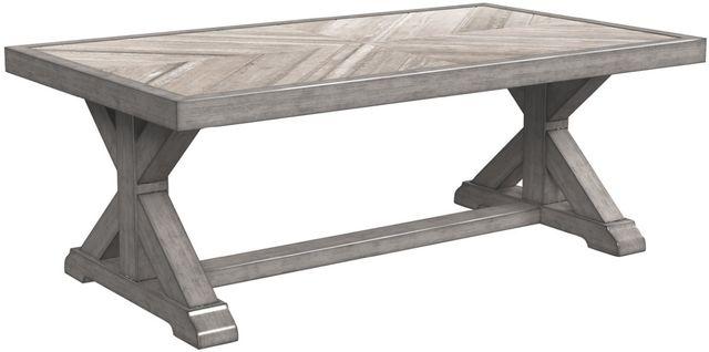 Signature Design by Ashley® Beachcroft Beige Rectangular Cocktail Table-P791-701