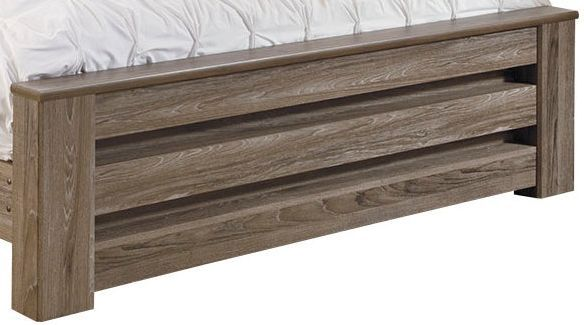 Signature Design by Ashley® Zelen Warm Gray Queen Panel Footboard-B248-64