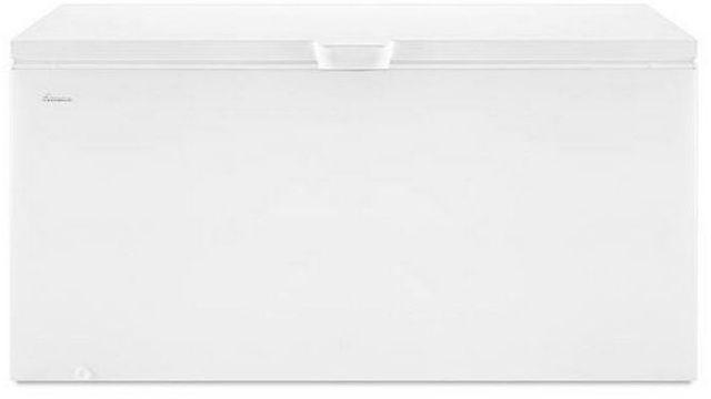 Amana® 22.0 Cu. Ft. Chest Freezer-White-AZC31T22DW