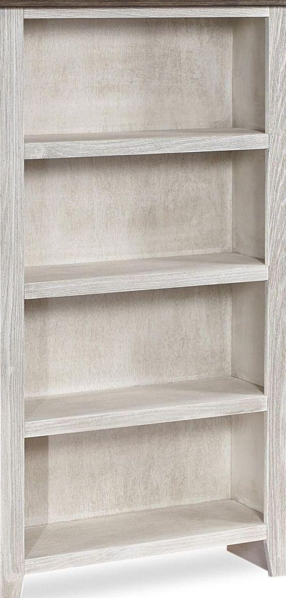 "Aspenhome™ Eastport Drifted White 74"" Bookcase-WME3472-DWT"