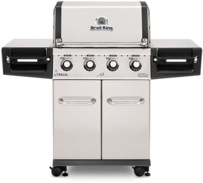 """Broil King® Regal™ S420 PRO Series 24.8"""" Stainless Steel Freestanding Grill-956317"""