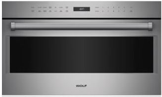 """Wolf® E Series Professional 30"""" Stainless Steel Built In Microwave Oven-MDD30PE/S/PH"""