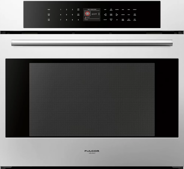 """Fulgor® Milano 700 Series 30"""" Single Electric Wall Oven-Stainless Steel-F7SP30S1"""